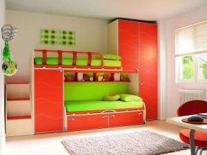 - Habitaciones infantiles dobles poco espacio ...