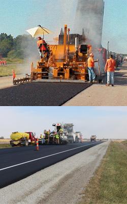 асфалтиране и къртене