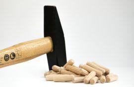 Дървени дюбели
